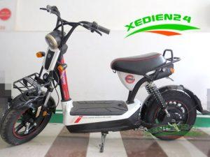 Xe đạp điện huyndai trắng