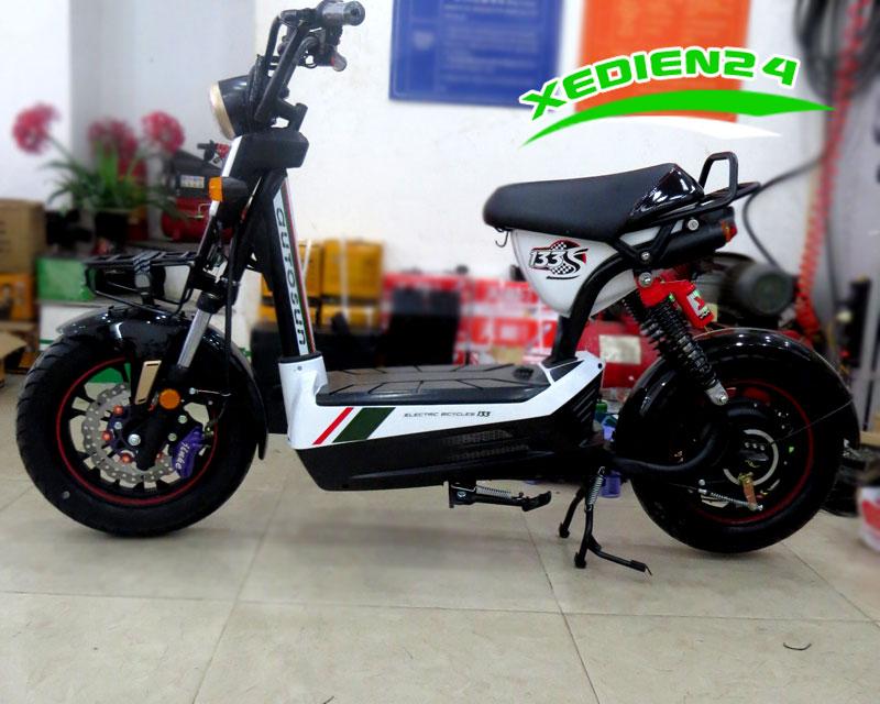 Xe đạp điện m133s phanh đĩa