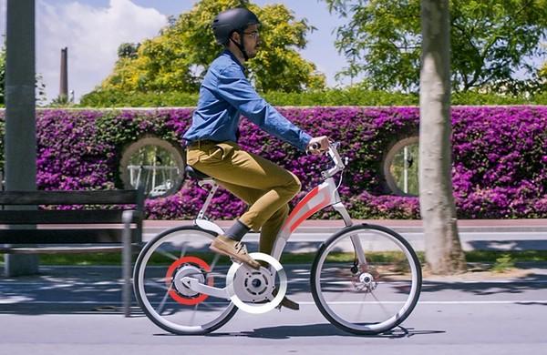 Xe đạp điện gấp gọn trong nháy mắt